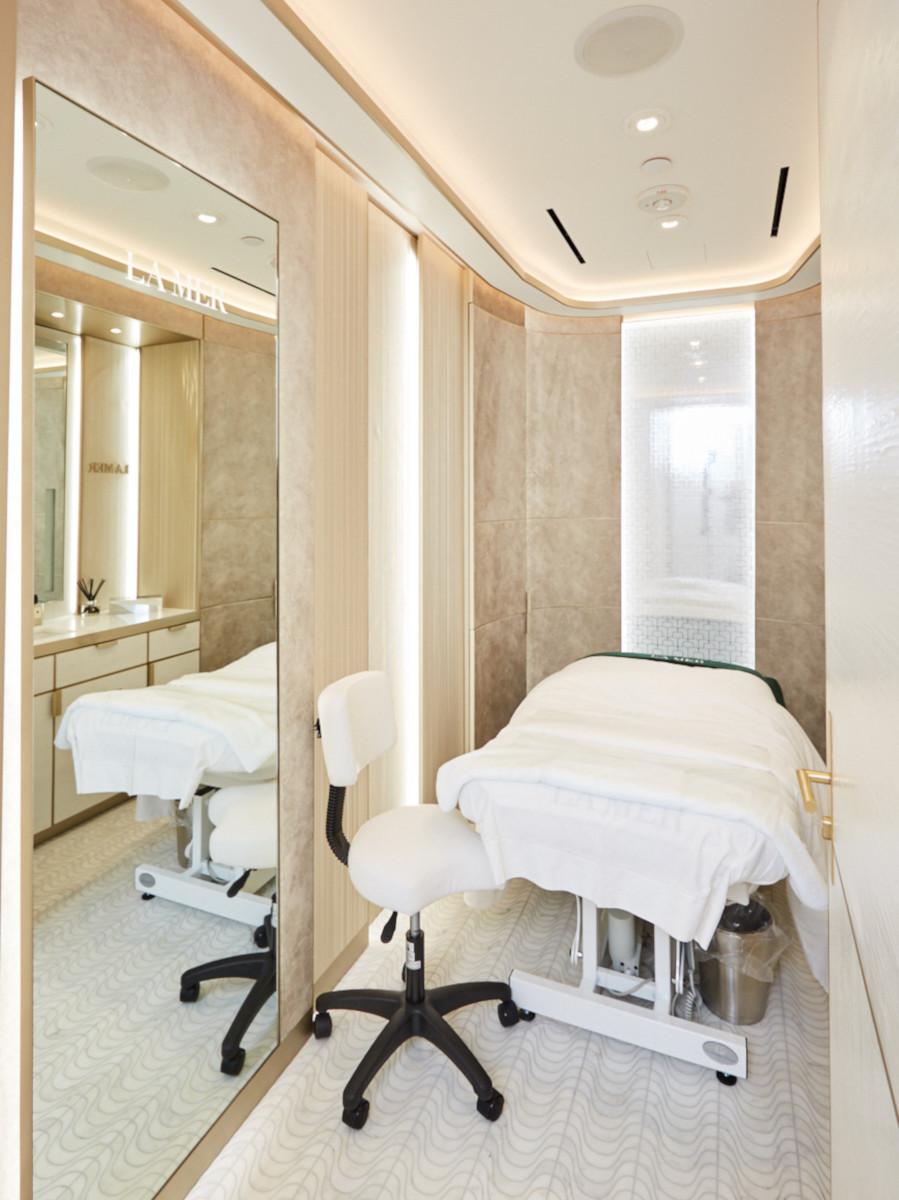 Beautysalon, La Mer in Bergdorf Goodman, New York City, USA
